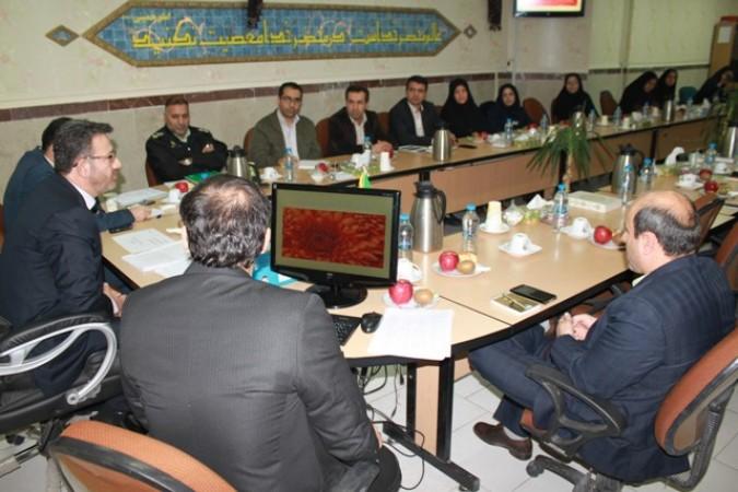 جلسه شورای آموزش و پرورش با محوریت پیشگیری از  آسیب های اجتماعی