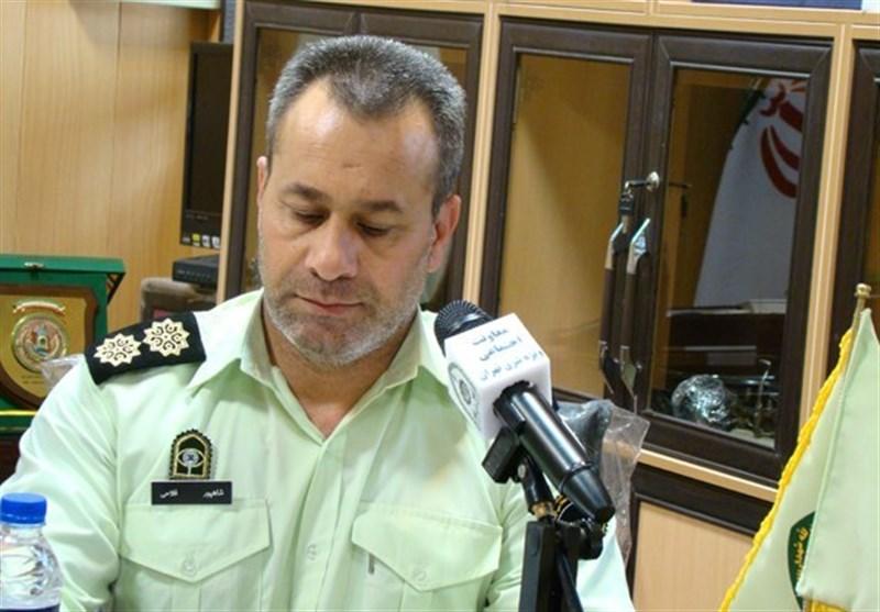 فرمانده انتظامی شهرستان قدس: