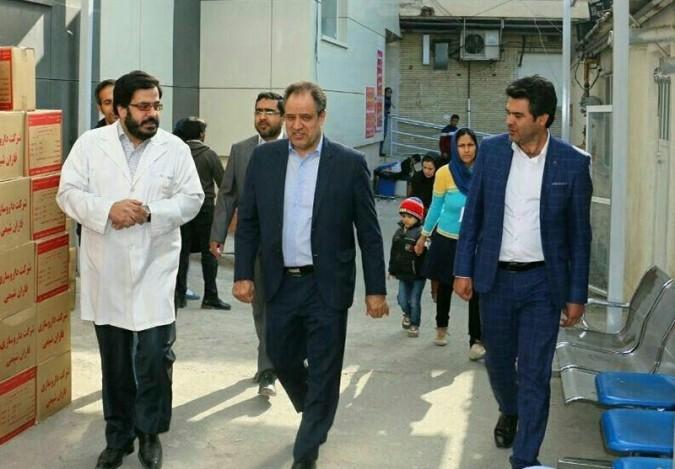 خیران برای برطرف کردن مشکلات بیمارستان امام سجاد(ع) شهریار ورود پیدا کنند
