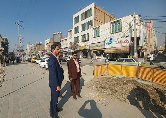 اتمام عملیات اجرای شبکه فاضلاب خیابان امام خمینی (ره) در شهرستان ملارد