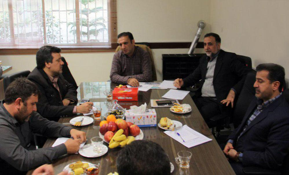 اولین جلسه هماهنگی برنامه های شهرداری قدس در ایام الله دهه مبارک فجر