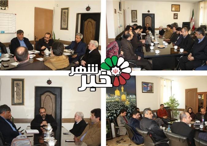 نشست سرپرست اداره با معاونت فرهنگی واجتماعی