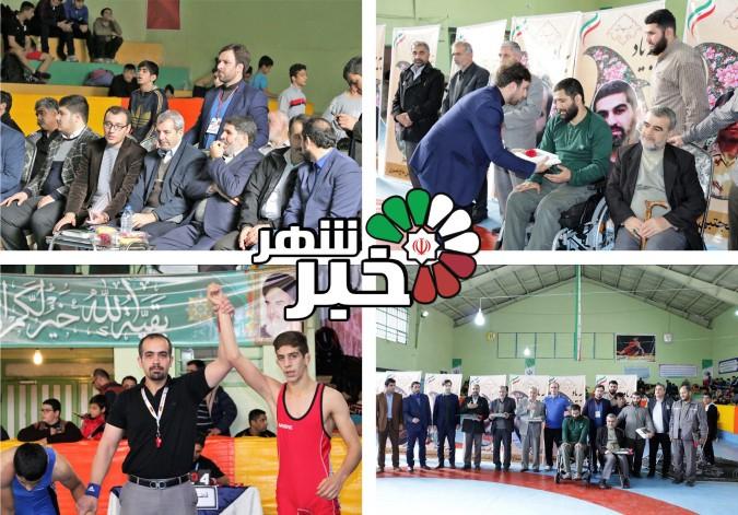 مسابقات کشتی آزاد کشوری گرامیداشت شهدا و جانبازان مدافع حرم در شهرستان شهریار برگزار شد.