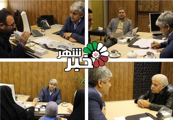 ملاقات عمومی فرماندار شهرستان شهریار با مردم برگزار شد