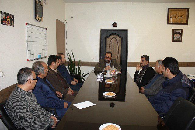 تفویض احکام اعضای کمیته های تخصصی هنرهای تجسمی وموسیقی شهرستان شهریار