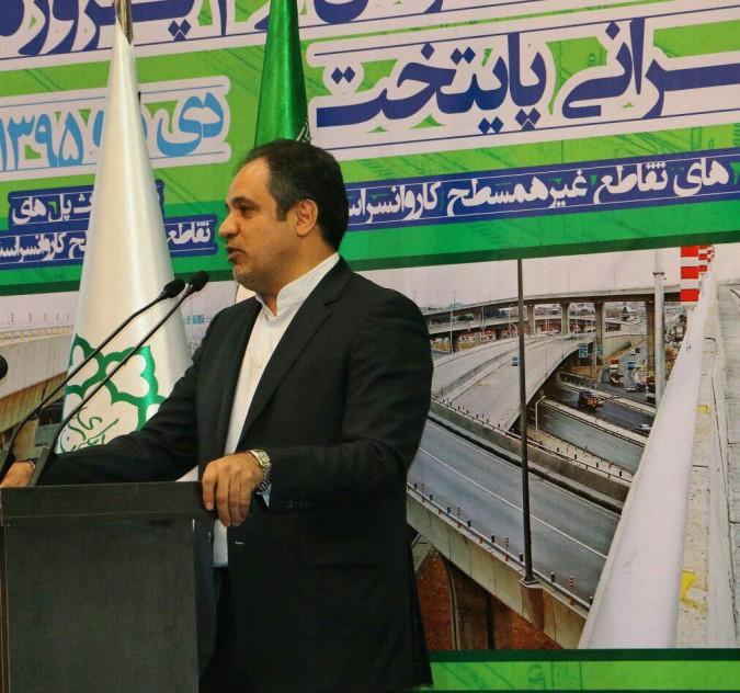 افتتاح تقاطع های غیرهمسطح کاروانسرای سنگی به همت مدیریت شهری تهران