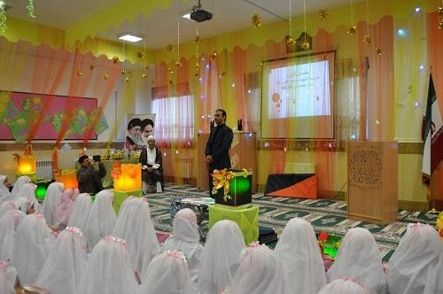 جشن عبادت دانشآموزان مدرسه شهید مسعود تقی زاده