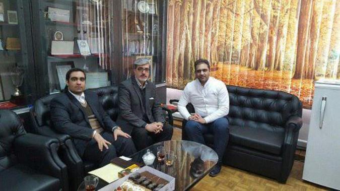 دیدار و گفتگو صالحی رئیس هیئت شهرستان شهریار با دبیر فدراسیون جودو کشور
