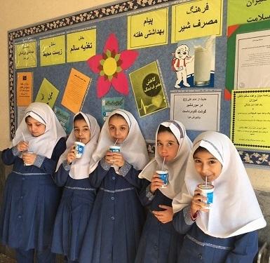 آغاز توزیع شیر رایگان در مدارس شهریار