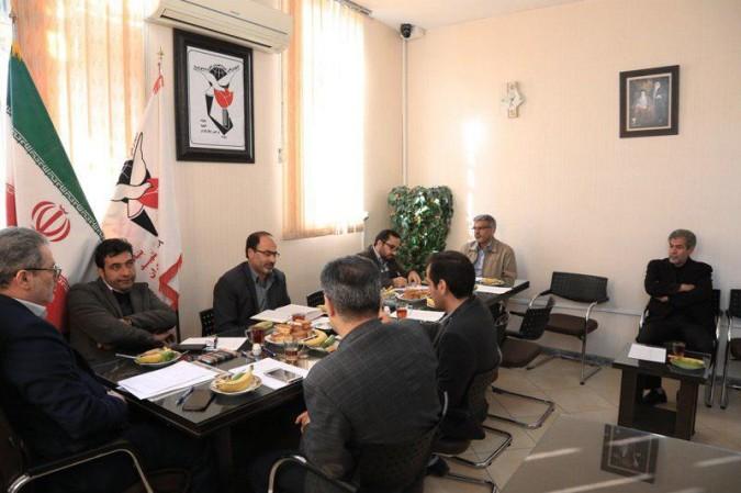 جلسه کمیته ایثارگران ستاد دهه فجر در بنیاد شهید شهریار برگزار شد