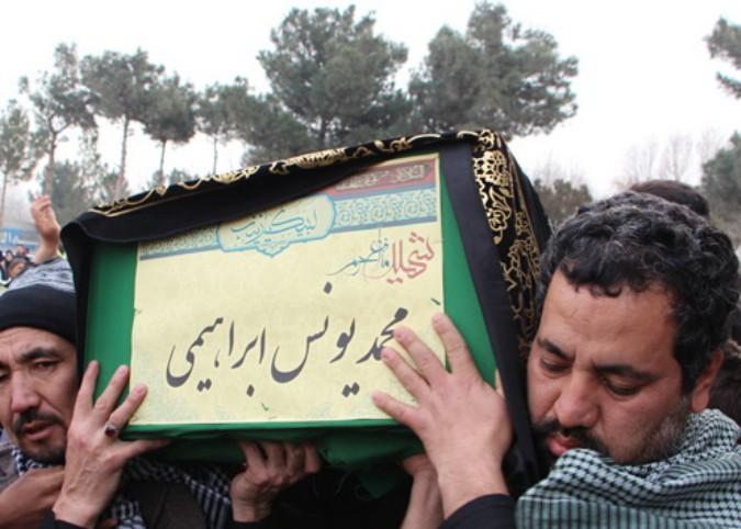 پیکر شهید مدافع حرم (شهیدمحمدابراهیم یونسی) در شهریار تشییع شد