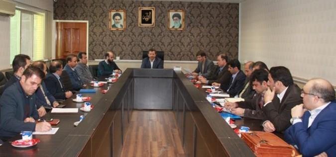 جلسه شورای هماهنگی امور بانکهای شهرستان قدس