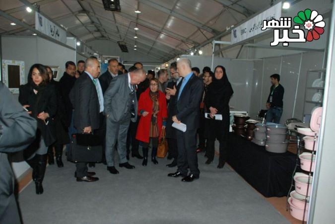 افتتاحیه ی اولین نمایشگاه توانمندی های صنایع کوچک و متوسط شهرک های صنعتی استان تهران