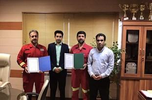 کسب مقام اول آتش نشانان شهریار در مسابقات آمادگی جسمانی استان تهران