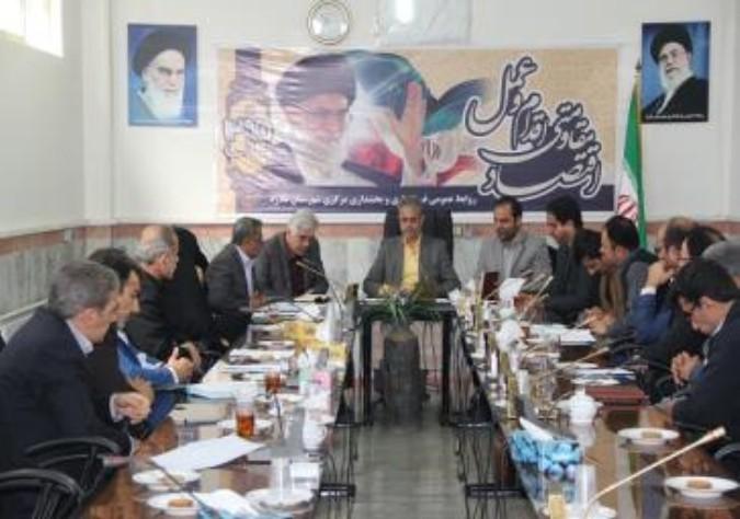 تشکیل جلسه ستاد فضای سبز شهرستان ملارد