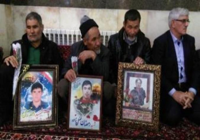 گزارش تصویری / مراسم تجلیل از خانواده شهدای حرم شهرستان قدس