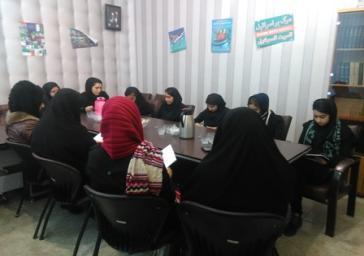 برگزاری جلسه شاهنامه خوانی در کتابخانه مرکزی شهرستان قدس