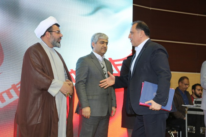 گزارش تصویری از مراسم تودیع و معارفه ریاست شبکه بهداشت و درمان شهریار