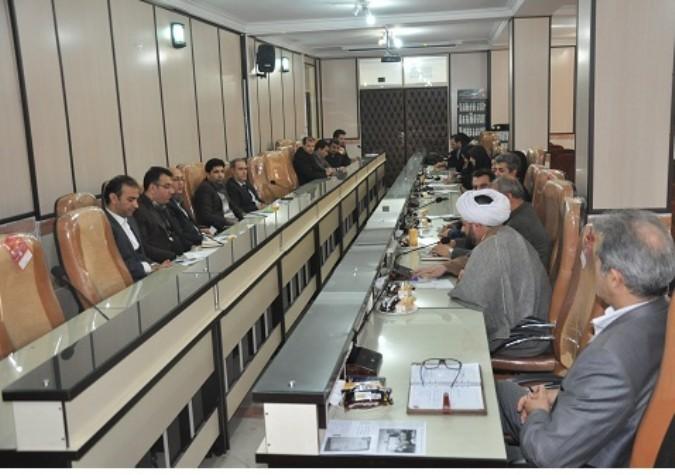 جلسه کمیته فرهنگی و پیشگیری شورای هماهنگی مبارزه با مواد مخدر شهریار