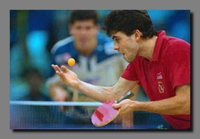 مسابقات سه جانبه تنیس روی میز جانبازان به مناسبت دهه فجر در شهریار برگزار می شود