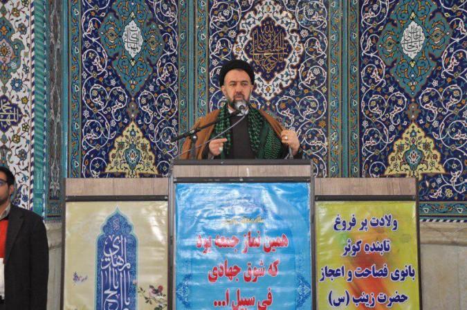 تصاویر نماز با شکوه جمعه شهرستان ملارد ۹۵/۱۱/۱۵
