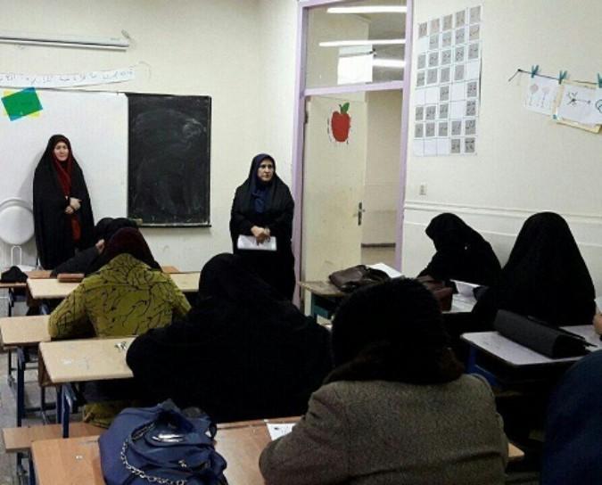 برگزاری مسابقه کتاب خوانی ویژه فراگیران سواد آموزی