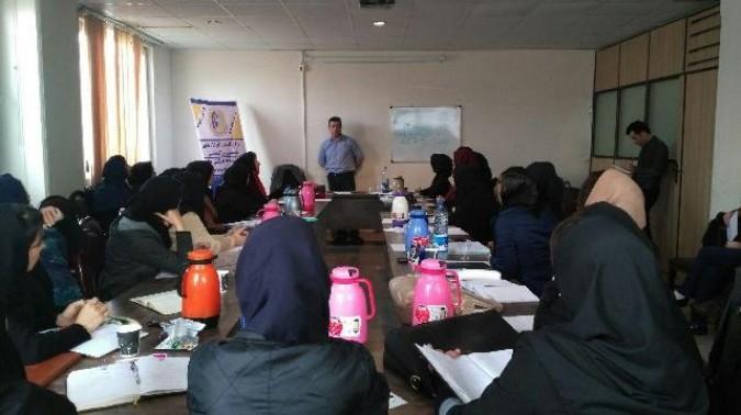 برگزاری کارگاه تخصصی روابط زوجین و همسرداری در شهرستان ملارد