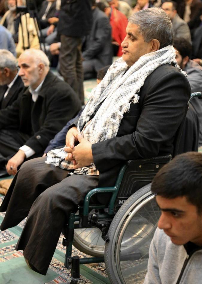 سالگرد شهادت جانبازشهید ید الله کاظمی مازی درشهریاربرگزارشد