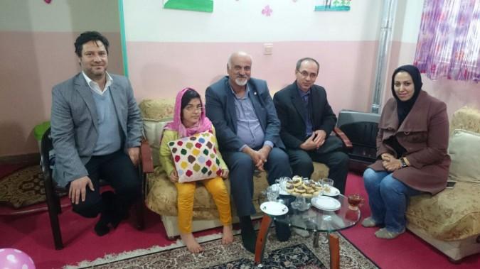 بازدید مدیر کل بهزیستی استان از مراکز توانبخشی شهرستان ملارد