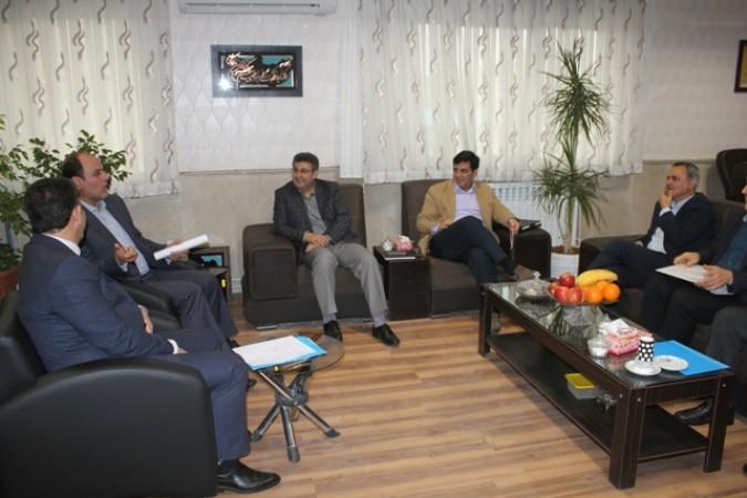 دیدار صمیمی معاون امنیتی انتظامی استانداری تهران با فرماندار شهرستان قدس