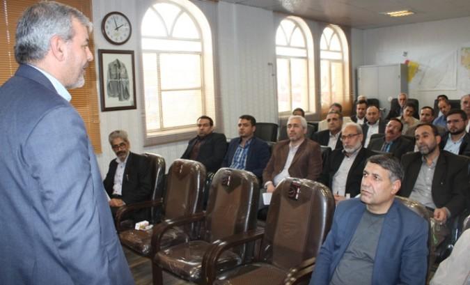 جلسه هیئت اجرایی انتخابات شورای اسلامی بخش مرکزی