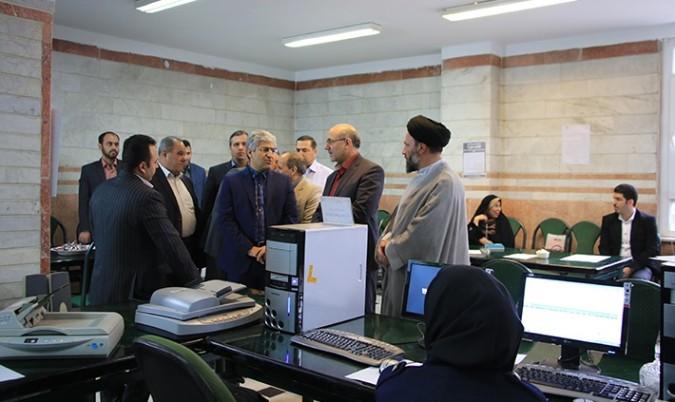 بازدید دکتر چاوشی از ستاد انتخابات شهرستان شهریار