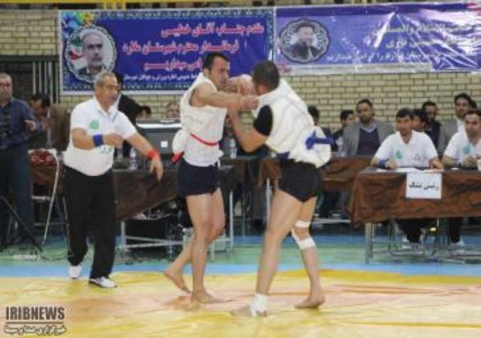 برگزاری مسابقات کشتی با چوخه قهرمانی کشور