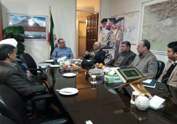 نشست فرماندار شهرستان ملارد با اعضای هیات نظارت انتخابات شوراهای این شهرستان