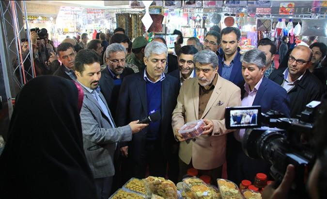رئیس سازمان صنعت، معدن و تجارت استان تهران از نمایشگاه کالای بهاره شهریار بازدید کرد