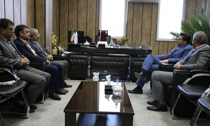دیدار و گفتگوی دکتر ناجی با دادستان عمومی و انقلاب شهرستان شهریار