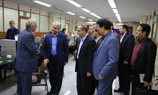 بازدید مدیرکل سیاسی استانداری تهران از ستاد انتخابات شهرستان شهریار