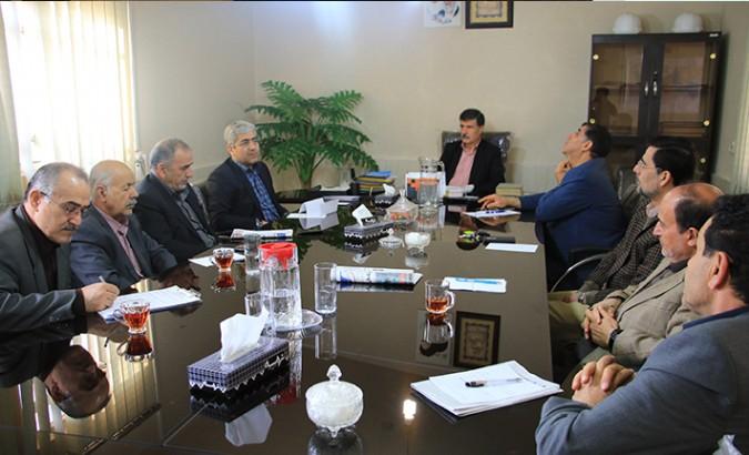 جلسه هیئت مدیره بیمارستان 313 تختخوابی امام خمینی(ره) شهریار برگزار شد
