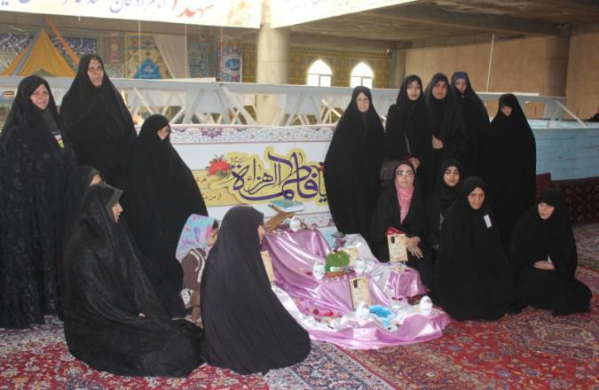 به همت معاونت فرهنگی خواهران ستاد برگزاری نماز جمعه شهریار برگزار گردید.