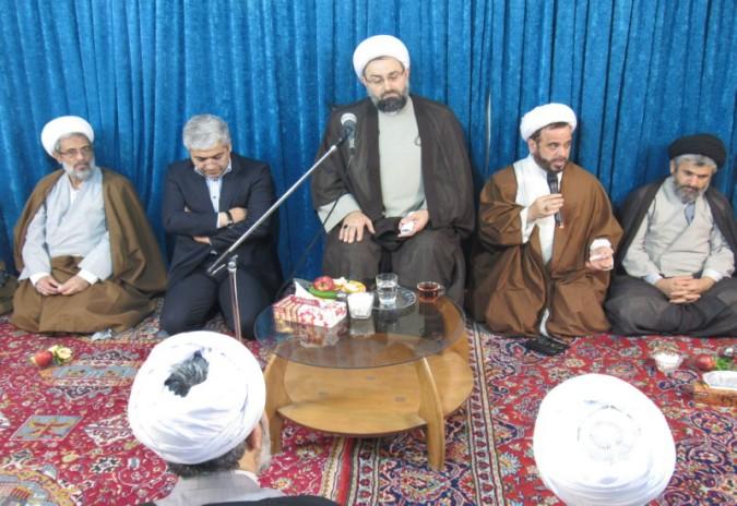 جلسه روحانیون شهرستان شهریار برگزار شد