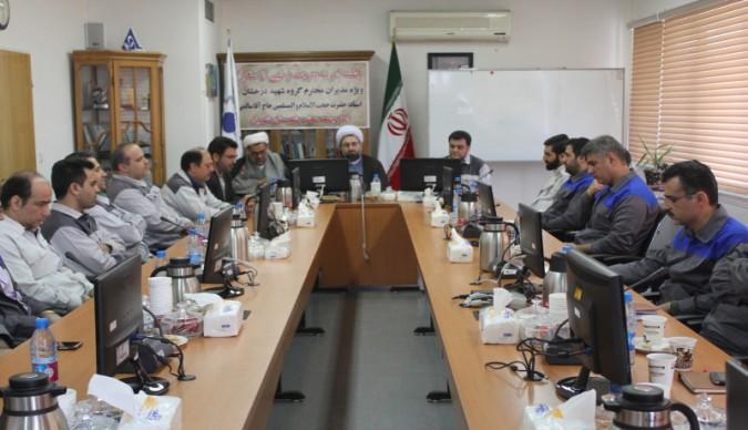 برگزاری جلسه ستاد احیاء امربه معروف ونهی از منکر در کارخانه صبا باطری