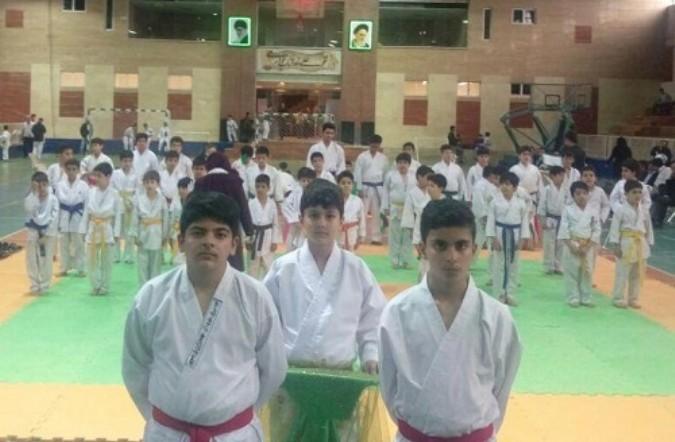 اولین دوره مسابقات کاراته دانش آموزی استان تهران