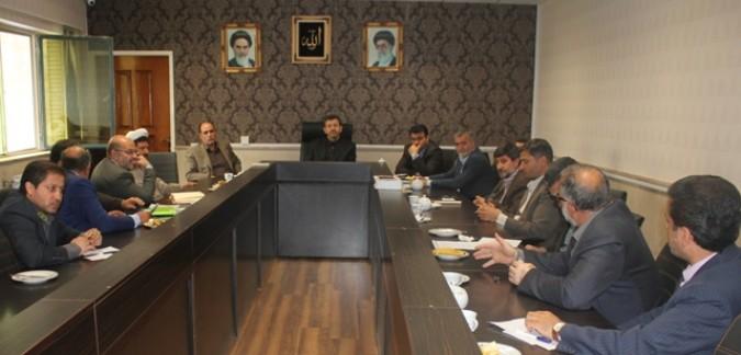 اولین جلسه هیات اجرایی دوازدهمین دوره ریاست جمهوری شهرستان قدس برگزار شد