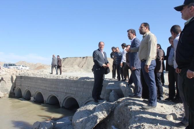 بازدید سید مهدی محمدی فرماندار شهرستان قدس از مسیر رودخانه کرج در منطقه معادن