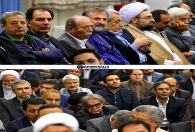 حضور امام جمعه محترم شهرستان شهریار در دیدار با رهبر معظم انقلاب