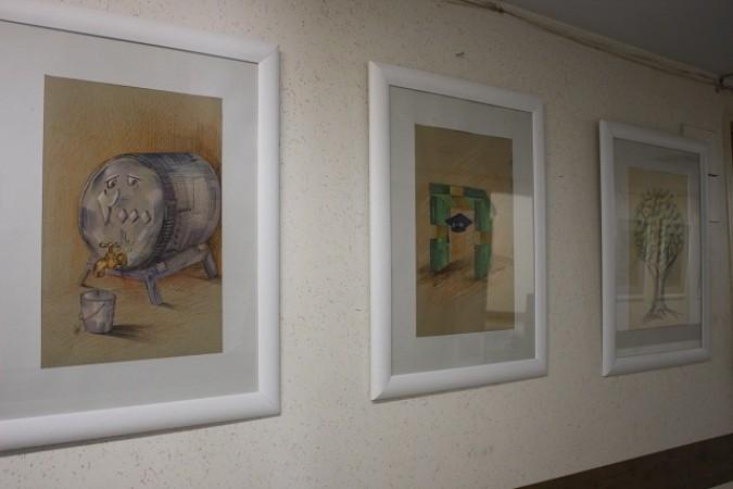 برگزاری نمایشگاه کاریکاتور باعنوان «اقتصاد مقاومتی از نگاه هنر» درشهرستان شهریار
