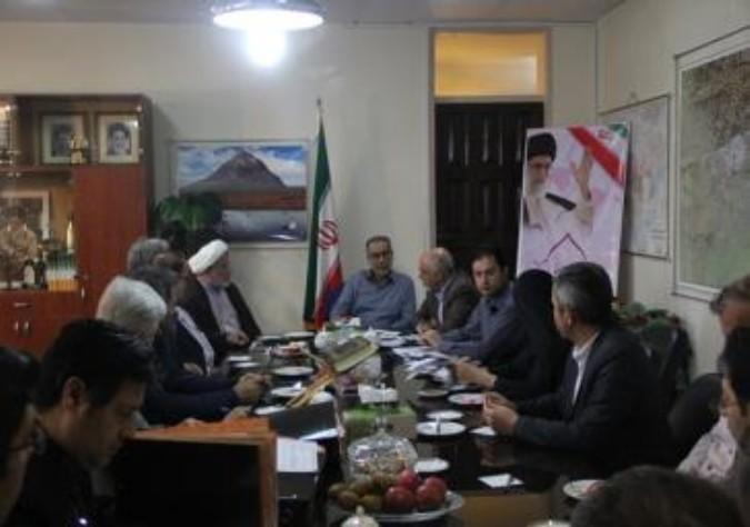 دومین نشست اعضای هیئت اجرایی شهرستان ملارد برای بررسی صلاحیت ها دواطلبین شوراهای شهر
