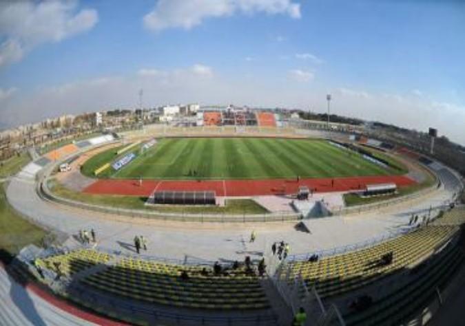 بازی فوتبال پیکان – سایپا در ورزشگاه شهدای شهر قدس