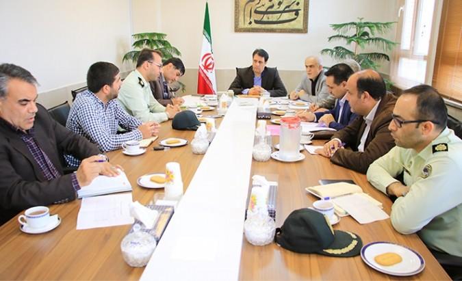 سومین جلسه کمیته امنیت ستاد انتخابات در فرمانداری شهرستان شهریار برگزار شد