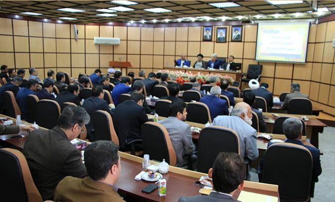 اولین جلسه شورای اداری شهرستان شهریار در سال 96